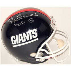"Bill Parcells Signed Giants Full-Size Throwback Helmet Inscribed ""HOF 13"" (Radtke COA)"