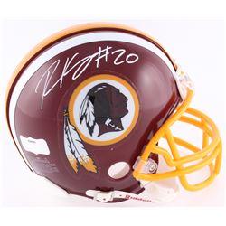 Robert Kelley Signed Redskins Mini-Helmet (JSA COA)