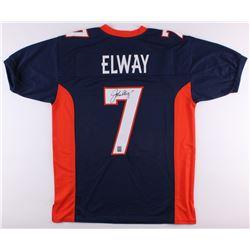 John Elway Signed Broncos Jersey (Elway Hologram)