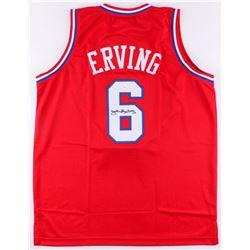 """Julius """"Dr. J"""" Erving Signed 76ers Jersey (JSA COA)"""