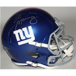 Eli Manning Signed New York Giants Full-Size Speed Helmet (Steiner COA)