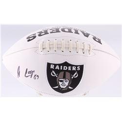 Amari Cooper Signed Raiders Logo Football (JSA COA)