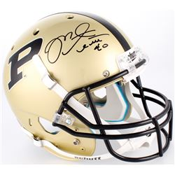 Mike Alstott Signed Purdue Boilermakers Full-Size Throwback Helmet (Radtke COA)