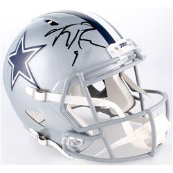 Tony Romo Signed Cowboys Full-Size Speed Helmet (JSA COA)