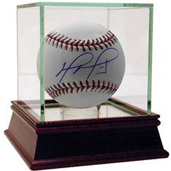 David Ortiz Signed Baseball with High Quality Display Case (Fanatics Hologram  MLB Hologram)