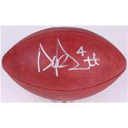 """Dak Prescott Signed """"The Duke"""" Official NFL Football (JSA COA)"""
