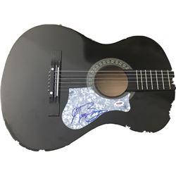 George Benson Signed Full-Size Acoustic Guitar (PSA COA)