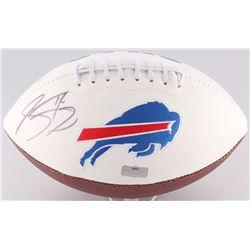 Sammy Watkins Signed Bills Logo Football (Radtke Hologram)