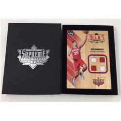 Ben Simmons 2016-17 Upper Deck Supreme Hardcourt NBA Relics Floor With (4) Jersey Swatches