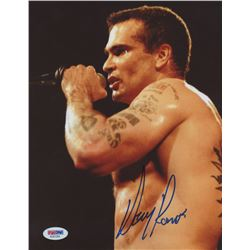 "Henry Rollins Signed ""Rollins Band"" 8x10 Photo (PSA COA)"