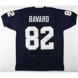 "Mark Bavaro Signed Notre Dame Fighting Irish Jersey Inscribed ""Go Irish!"" (JSA COA)"