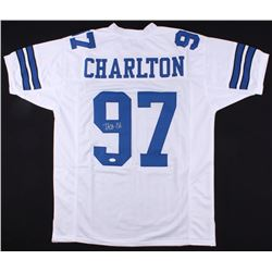 Taco Charlton Signed Cowboys Jersey (JSA COA)