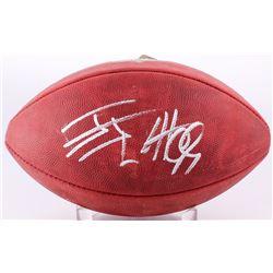 """J.J. Watt Signed """"The Duke"""" Official NFL Game Ball (JSA COA)"""