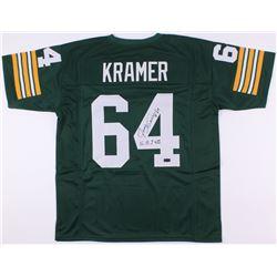 "Jerry Kramer Signed Packers Jersey Inscribed ""S.B. I + II"" (Radtke COA)"