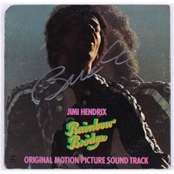 "Billy Cox Signed ""Jimi Hendrix- Rainbow Bridge"" Vinyl Record Album Cover (JSA COA)"