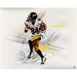 Antonio Brown Signed Steelers 16x20 Photo (Steiner COA)