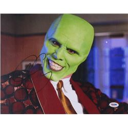 Jim Carrey Signed  The Mask  11x14 Photo (PSA COA)