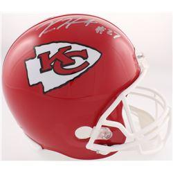 Kareem Hunt Signed Chiefs Full-Size Helmet (JSA COA)