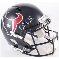 Deshaun Watson Signed Texans Full-Size Helmet (JSA COA  Watson Hologram)