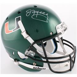 Jim Kelly Signed Miami Hurricanes Full-Size Helmet (JSA COA)