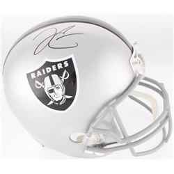 Derek Carr Signed Raiders Full-Size Helmet (Beckett Hologram)