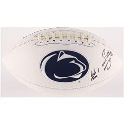 "Saquon Barkley Signed Penn State Nittany Lions Logo Football Inscribed ""We Are!"" (JSA COA)"