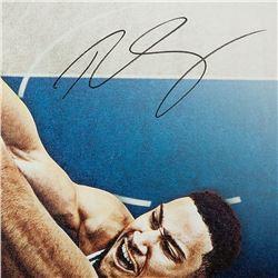 "Ben Simmons Signed LE 76ers ""Jam"" 20x24 Custom Framed Display (UDA COA)"