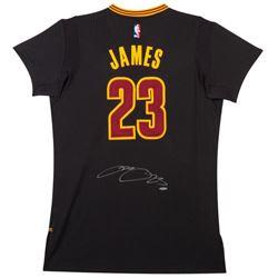 "LeBron James Signed Cavaliers ""Pride"" Jersey (UDA COA)"