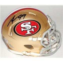 Aldon Smith Signed 49ers Speed Mini-Helmet (Radtke COA)
