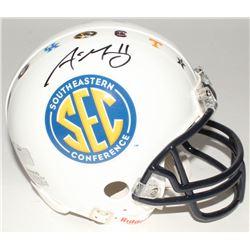 Aaron Murray Signed Southeastern Conference Mini-Helmet (Radtke COA)