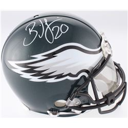 Brian Dawkins Signed Philadelphia Eagles Full-Size Authentic On-Field Helmet with Visor (JSA COA)