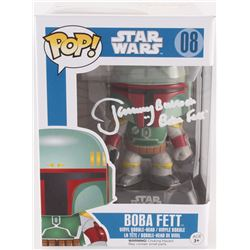 "Jeremy Bulloch Signed ""Boba Fett"" #08 Star Wars Funko Pop Vinyl Bobble-Head Figure Inscribed ""Boba F"