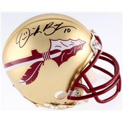 Derrick Brooks Signed Florida Sate Seminoles Mini-Helmet (JSA COA  Brooks Hologram)