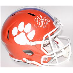Brian Dawkins Signed Clemson Tigers Full-Size Speed Helmet (JSA COA)