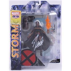 """Stan Lee Signed """"Storm"""" Marvel Select Action Figure (Radtke COA  Lee Hologram)"""