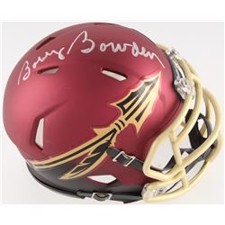 Bobby Bowden Signed Florida State Seminoles Mini Speed Helmet (Radtke COA)