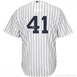 Miguel Andujar Signed Yankees Jersey (Steiner COA)