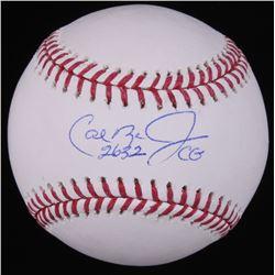 """Cal Ripken Jr. Signed OML Baseball Inscribed """"2632 CG"""" (Radtke Hologram)"""