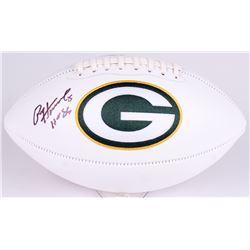 "Paul Hornung Signed Packers Logo Football Inscribed ""HOF 86"" (Radtke COA)"