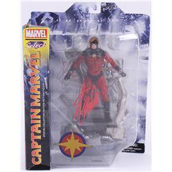 """Stan Lee Signed """"Captain Marvel Select"""" Marvel Select Action Figure (Radtke COA  Lee Hologram)"""