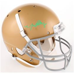 Manti Te'o Signed Notre Dame Fighting Irish Full-Size Helmet (Radtke COA)