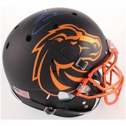Demarcus Lawrence Signed Boise State Broncos Full-Size Authentic On-Field Helmet (Radtke COA)