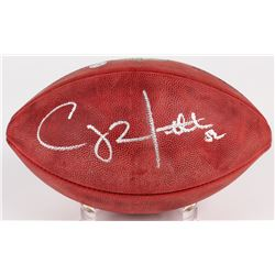 Clay Matthews III Signed Official NFL Game Ball (Mathews Hologram)