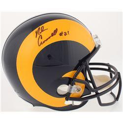 Nolan Cromwell Signed Rams Full-Size Throwback Helmet (Radtke COA)