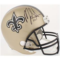 Mark Ingram Signed Saints Full-Size Helmet (Radtke COA)