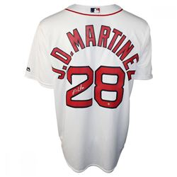 J.D. Martinez Signed Red Sox Jersey (Steiner COA)