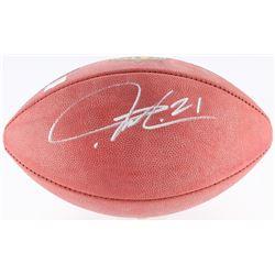 LaDainian Tomlinson Signed Official NFL Game Ball (Radtke COA  Tomlinson Hologram)