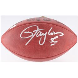 Lawrence Taylor Signed Official NFL Game Ball  (Radkte COA)