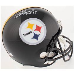 "Mel Blount Signed Pittsburgh Steelers Full-Size Helmet Inscribed ""HOF 89"" (Radtke COA)"