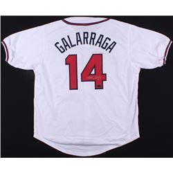 Andres Galarraga Signed Braves Jersey (Radtke COA)